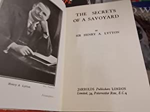 The Secrets of a Savoyard: Lytton, Henry