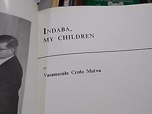 Indaba my Children: Mutwa, Vusamazulu Credo