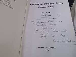 Cookery in Southern Africa: Heard, Vida and Faull, Lesley