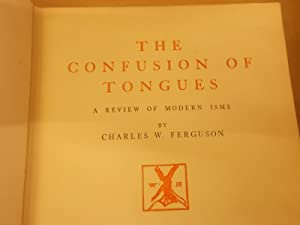 The Confusion of Tongues: Ferguson, Charles
