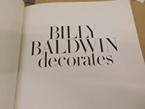 Billy Baldwin Decorates: A book of practical decorating ideas: Baldwin, Billy