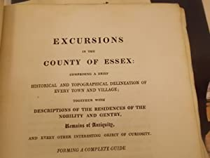 Excursions in the County of Essex: Comprising a Brief Historical and Topographical Delineation of ...