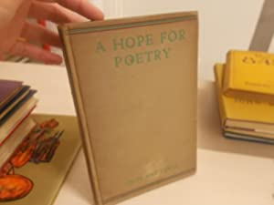 A Hope FOr Poetry: Lewis, C. Day