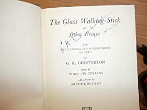 The Glass Walking-Stick and other essyas (No DJ): Chesterton, G.K.