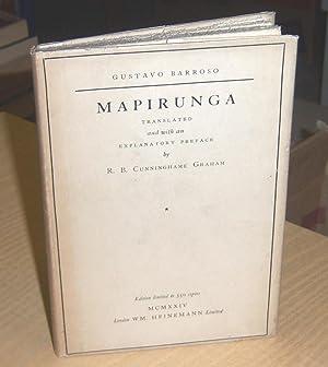 Mapirunga: Barroso, Gustavo (signed)