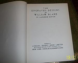 The engraved design of William Blake: Binyon, Laurence