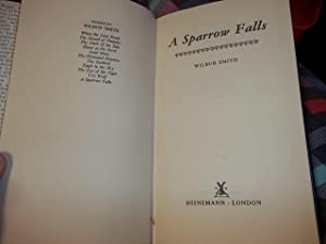 A Sparrow Falls: Smith, Wilbur