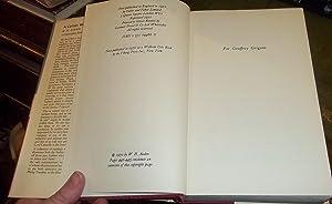 A Certain World, a commonplace book: Auden, W. H.