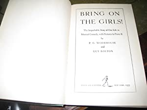 Bring on the girls!: Wodehouse, P.G.