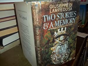 Two Stories & A Memory: Lampedusa, Giuseppe Di