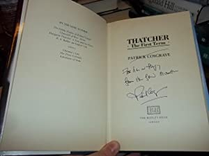 Thatcher: The First Term: Cosgrave, Patrick