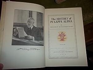 The History of Pi Kappa Alpha: Hart, Freeman Hansford