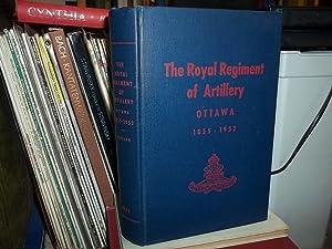 The Royal Regiment of Artillery, Ottawa 1855-1952: Jackson