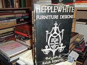 Hepplewhite, Furniture Designs: Edwards, Raph