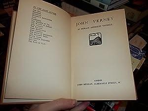 John Verney: Vachell, H.A.