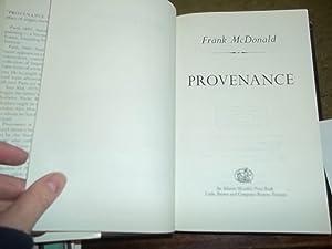Provenance: McDonald, Frank