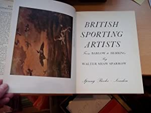 British Sporting Artists from Barlow to Herring: Walter Shaw Sparrow