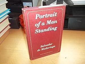 Portrait of a Man Standing: De Madariaga, Salvador