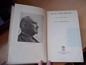 Trial and Error: Weizmann, Chaim