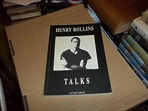 Henry Rollins Talks: Rollins, Henry; Fischer, Robert