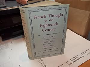 French Through in the Eighteenth Century, Rousseau, Voltaire, Diderot