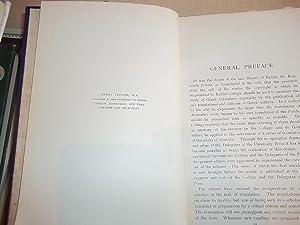 The Works of Aristotle volume VIII Metaphysica