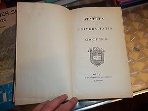 Statuta Universitatis Oxoniensis