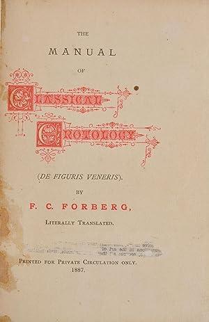The Manual of classical Erotology (De figuris: CARRINGTON, Charles). FORBERG,