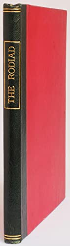 The Rodiad.: HOTTEN, John Camden,