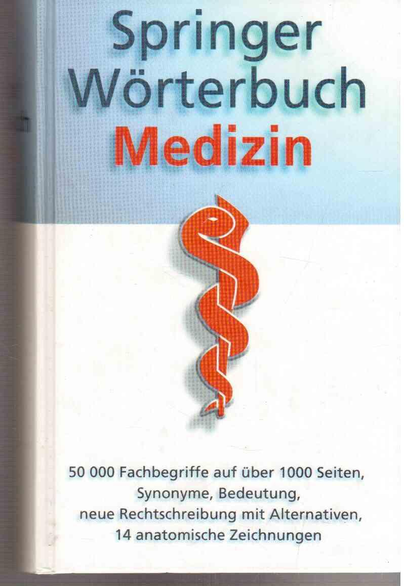 springer wörterbuch medizin von reuter - ZVAB