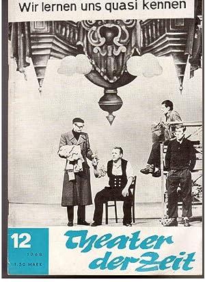 Theater der Zeit : Organ des Verbandes der Theaterschaffenden der DDR. Heft 12-24 (1968): John, ...
