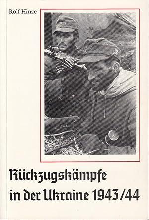 Rückzugskämpfe in der Ukraine 1943-44: Hinze, Rolf