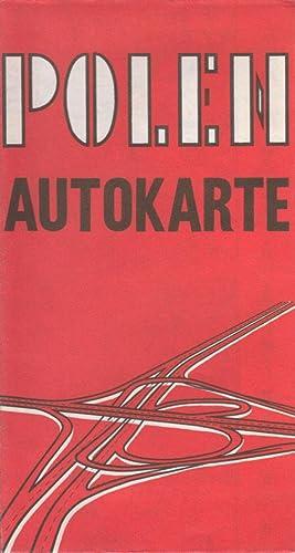 Polen Autokarte - Mapa Samochodowa Polski: Krystyna Zalewska (Red.)