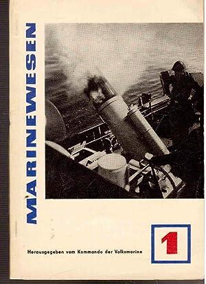 Marinewesen : Zeitschrift für Militärwissenschaftliche Fragen. 5.: Kommando der Volksmarine,