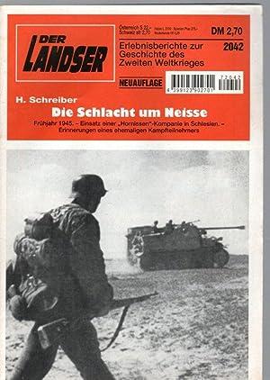 Die Schlacht um Neisse: Schreiber, H.