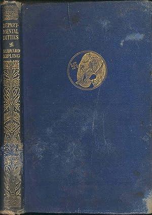 Departmental ditties, and other verses. [Army headquarters: Kipling, Rudyard, 1865-1936.