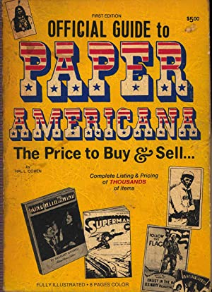 Official Guide to Paper Americana: The PRice: Cohen, Hal L.