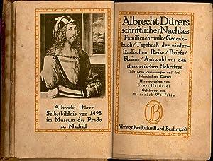Albrecht Dürers schriftlicher Nachlass : Familienchronik, Gedenkbuch,: Dürer, Albrecht, 1471-1528.