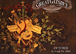 Great Gatsby's Auction : October 8,9 and 10, 2004, Atlanta, Georgia: Tzavaras, Ted ; Kowalik, ...