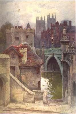 York : described by George Benson, pictured by E.W. Haslehust. [Beautiful England Series] [The City...
