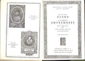 Pasos [por] Lope de Rueda / Entremeses ; edición, estudio y notas por Jose Manuel ...