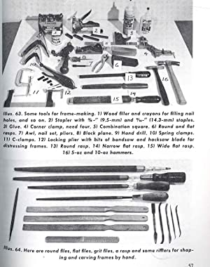 Making picture frames in wood. [Home craftsman: Banister, Manly, 1914-1986.