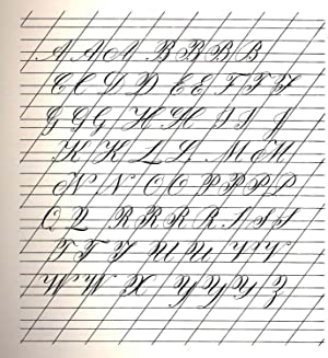Calligraphy in the copperplate style [Getting started: Kaufman, Herb. ;