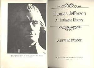 Thomas Jefferson, an intimate history. [Martha Jefferson;: Brodie, Fawn McKay,