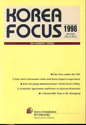 Korea Focus on Current Topics. Vol.6, no.6: Editors, Lee Jeong-binn,