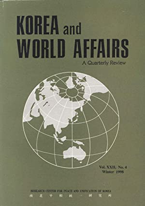 Korea & World Affairs. Vol. XXII, No.4: Kang, Chi-Won and