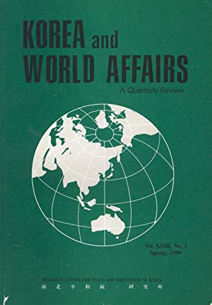 Korea & World Affairs. Vol. XXIII, No.1: Park, Jongchul and