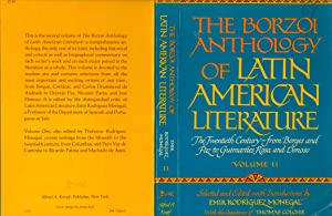 The Borzoi Anthology of Latin American Literature: Rodríguez Monegal, Emir.