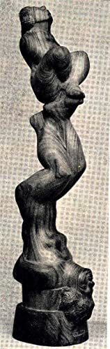 Sculpture in wood. [Art is what you: Rood, John, 1902-1974.