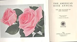 The American rose annual : the 1922: McFarland, John Horace,